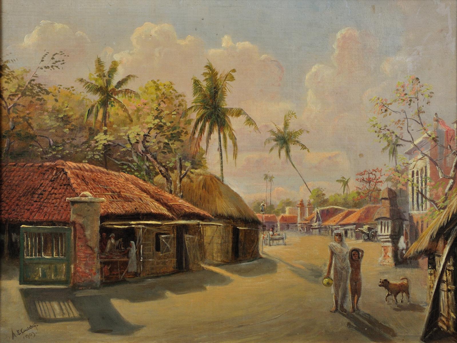 File:Village scene, Jagannath, India.jpgBeautiful Indian Village Paintings
