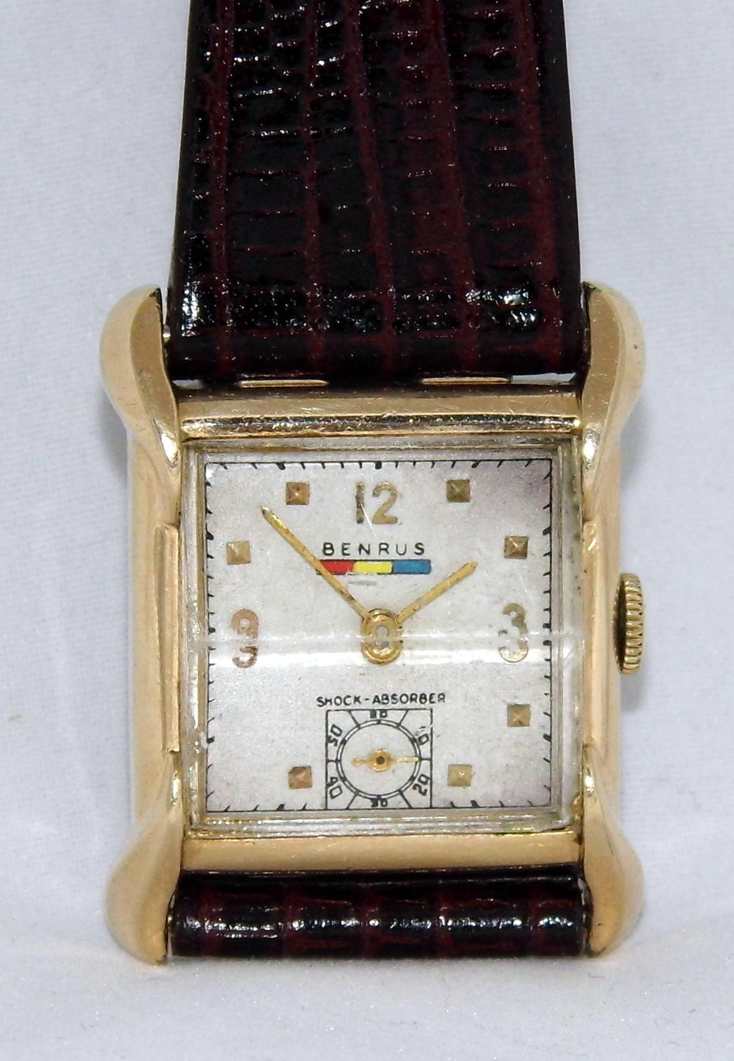 File Vintage Benrus 17 Jewel Swiss Made