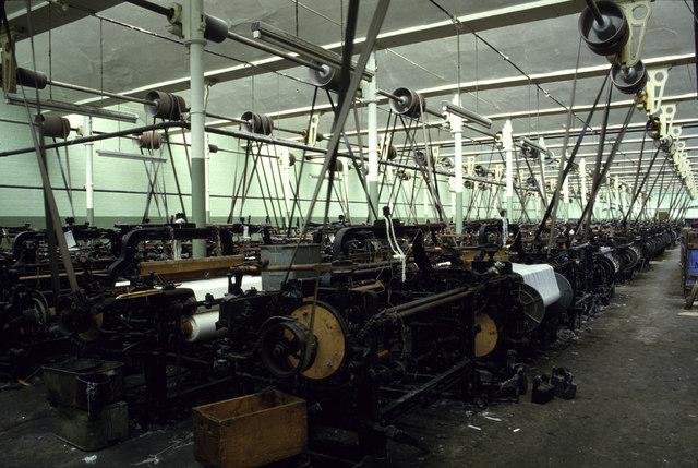 Weaving shed - Wikipedia