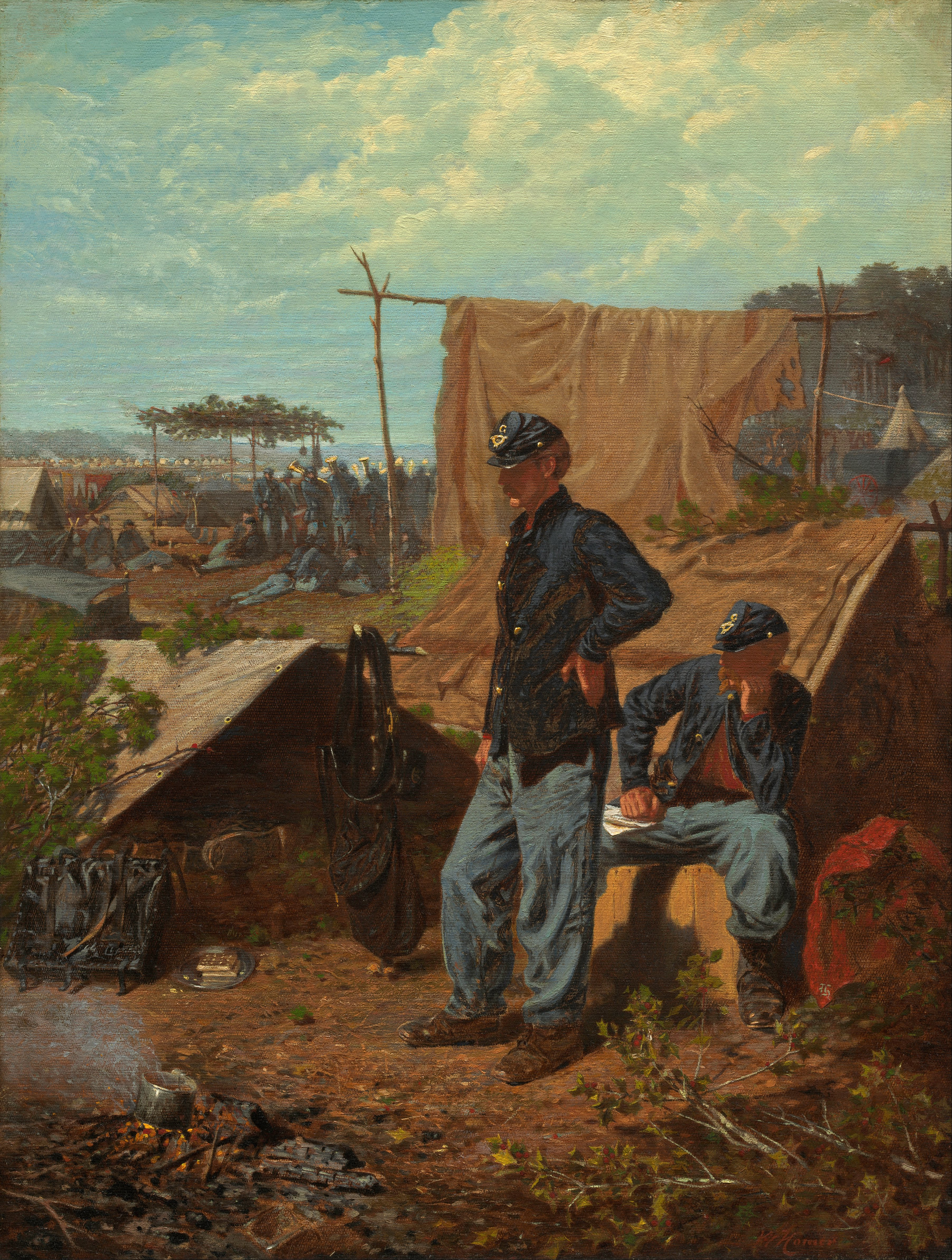 Home sweet home painting - File Winslow Homer Home Sweet Home Google Art Project Jpg
