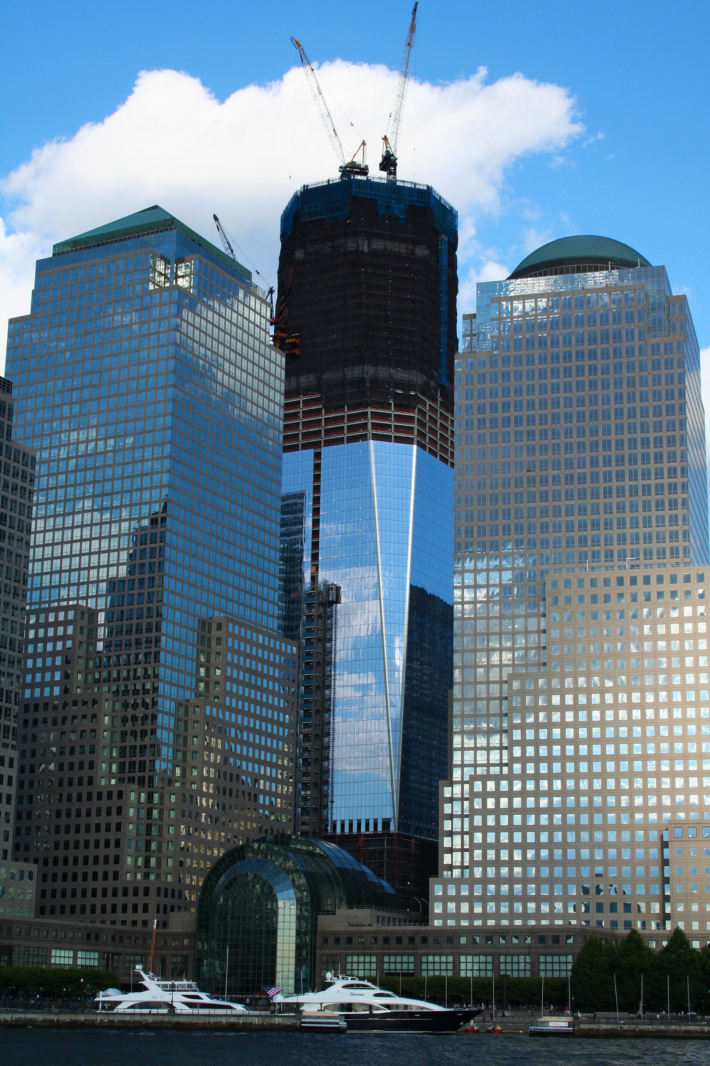 World Trade Center Construction : File world trade center under construction flickr