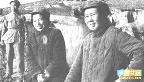 Jiang Quing and Mao Tse-Tung