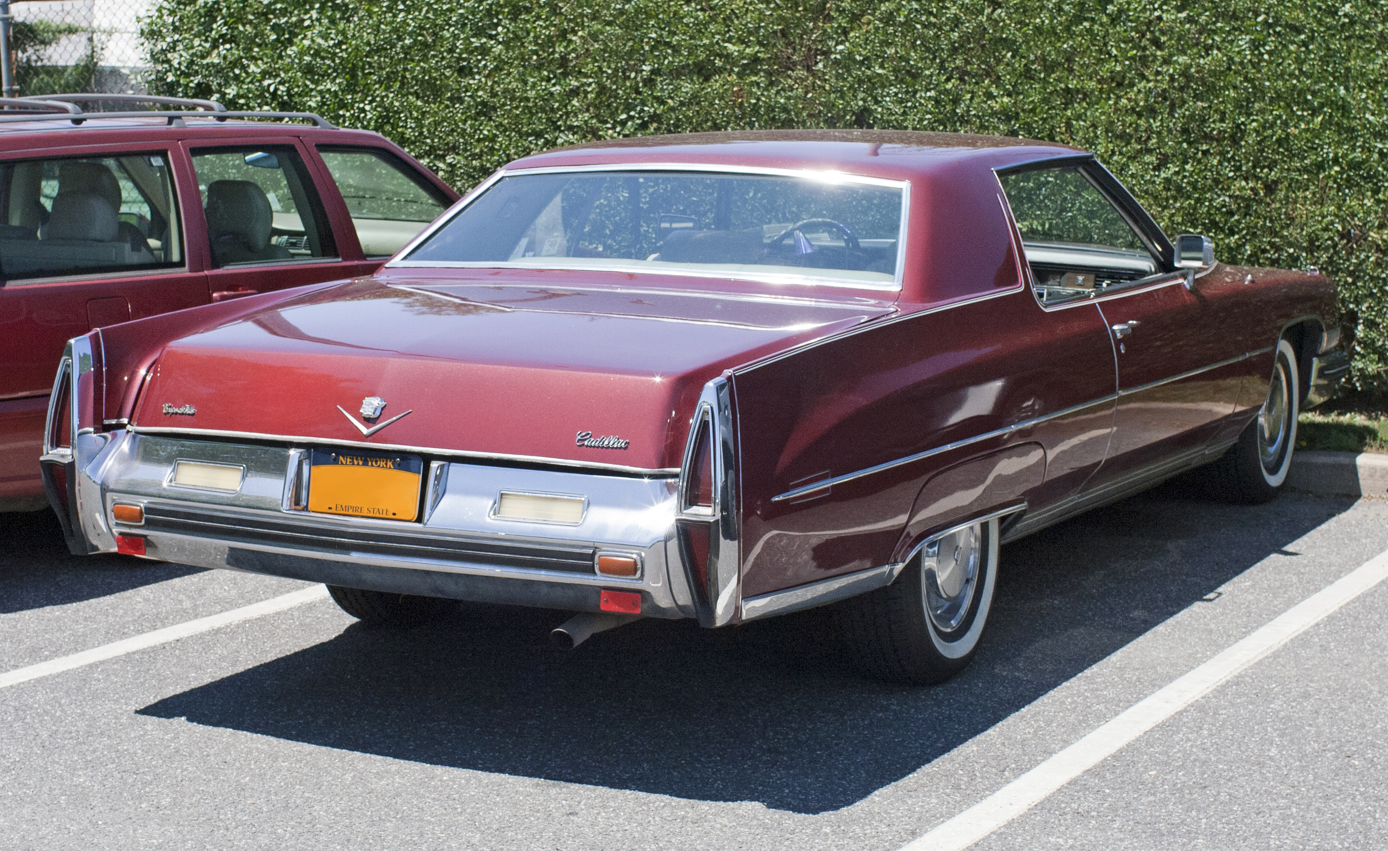 File 1973 Cadillac Coup 233 De Ville Rear Jpg Wikimedia Commons