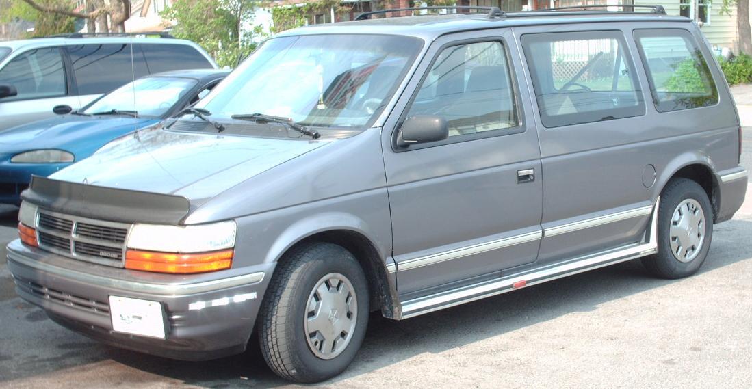 Dodge Work Van >> File:1991 Dodge Caravan.jpg - Wikimedia Commons