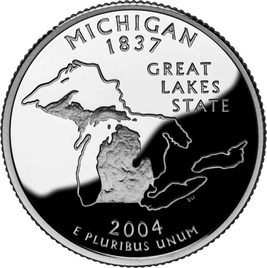 Michigan's state quarter