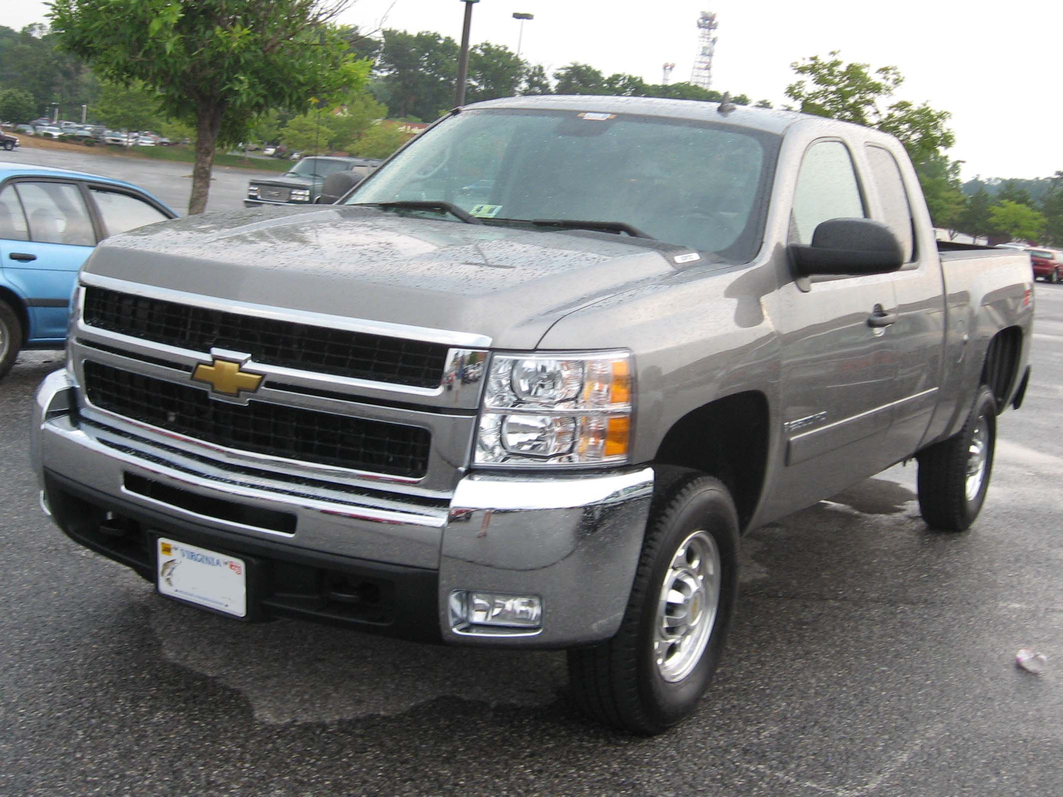 file 2007 chevrolet silverado wikipedia the free. Cars Review. Best American Auto & Cars Review