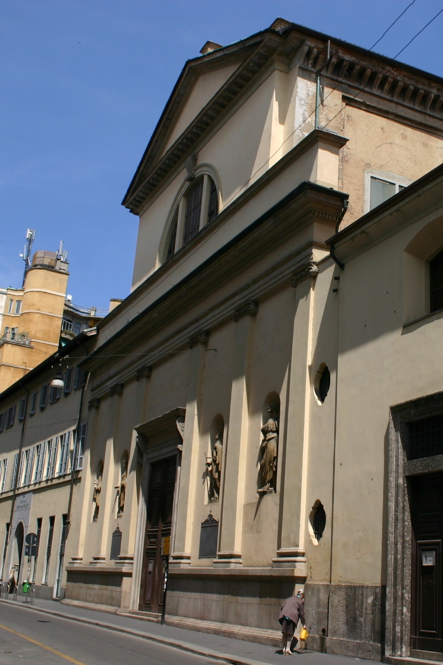 Chiesa di sant 39 antonio abate milano wikipedia for Arredo bimbo sant antonio abate