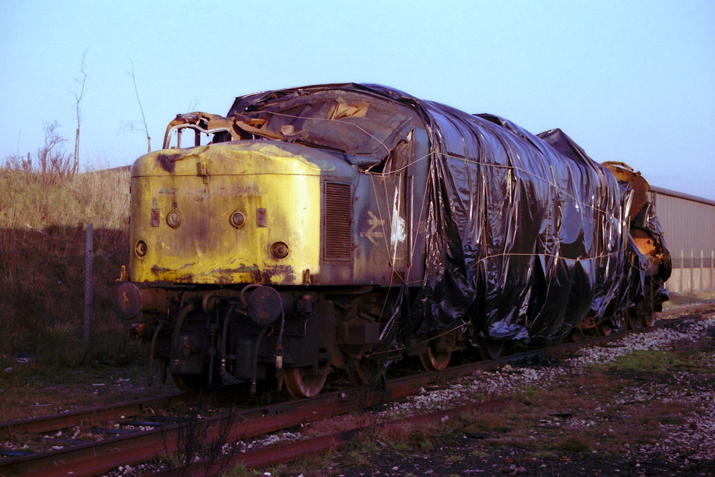 Eccles rail crash (1984) - Wikipedia