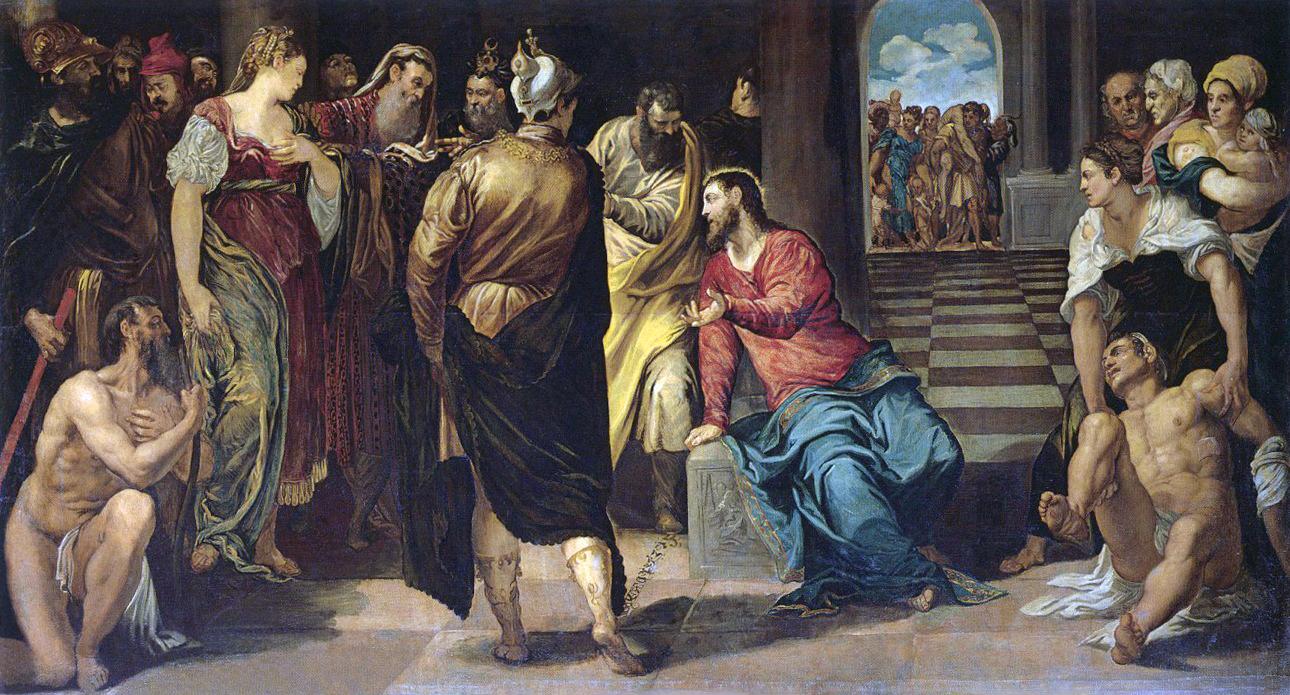 File:4 Cristo y la mujer adúltera (Gemäldegalerie de Dresde, c. 1547