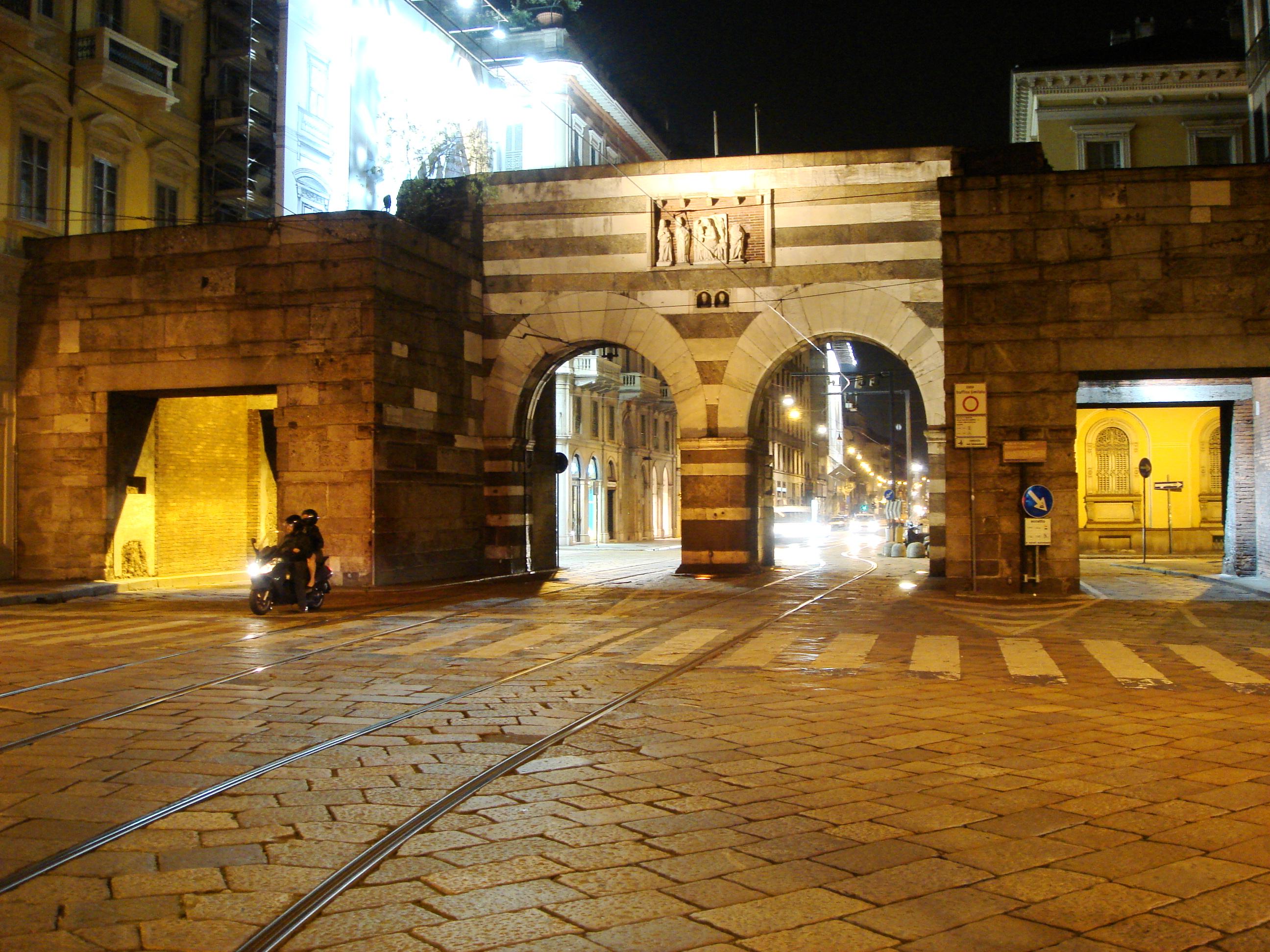 File 8536 milano porta nuova 1171 e 1861 foto - Via porta nuova milano ...