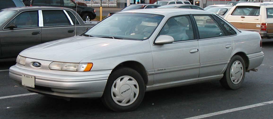 File 91 95 Ford Taurus Sedan Jpg Wikipedia