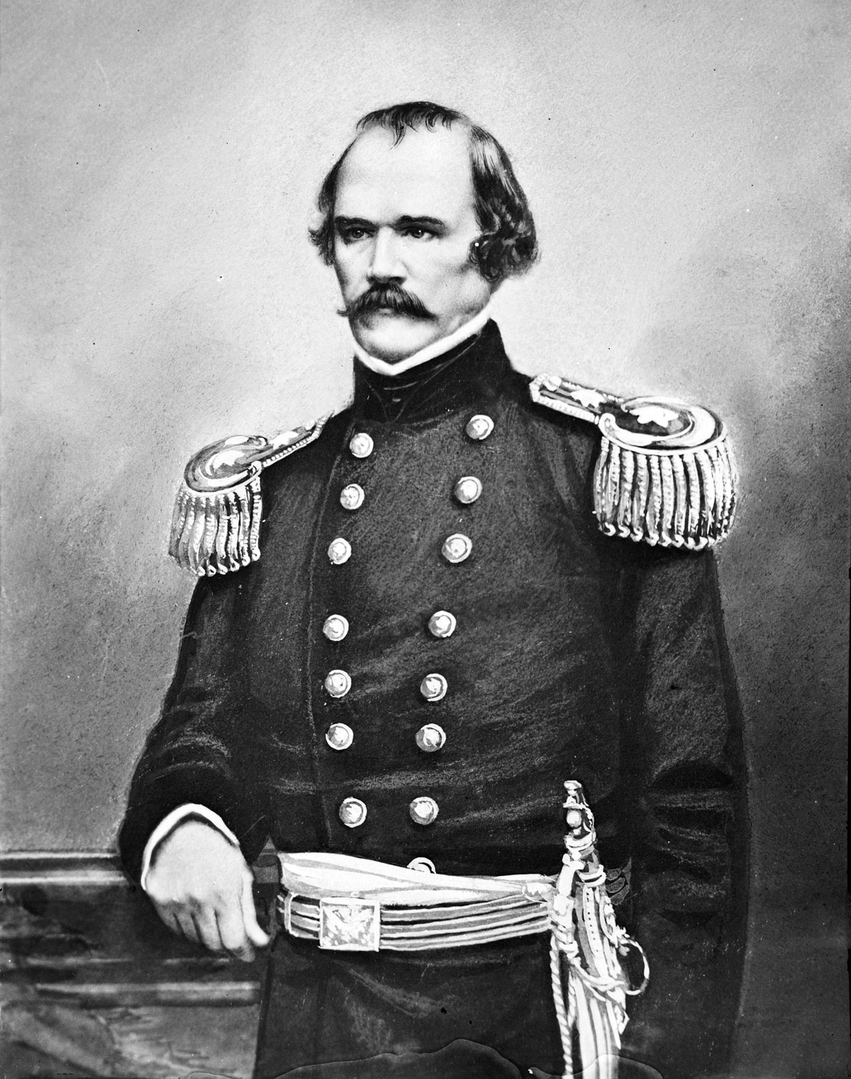 "Colonel Albert Sidney Johnston led the Utah Expedition to put down a Mormon ""rebellion"" against the Union. In the Civil War he became a high ranking general in the Confederate Army and was killed at the Battle of Shiloh in 1862."