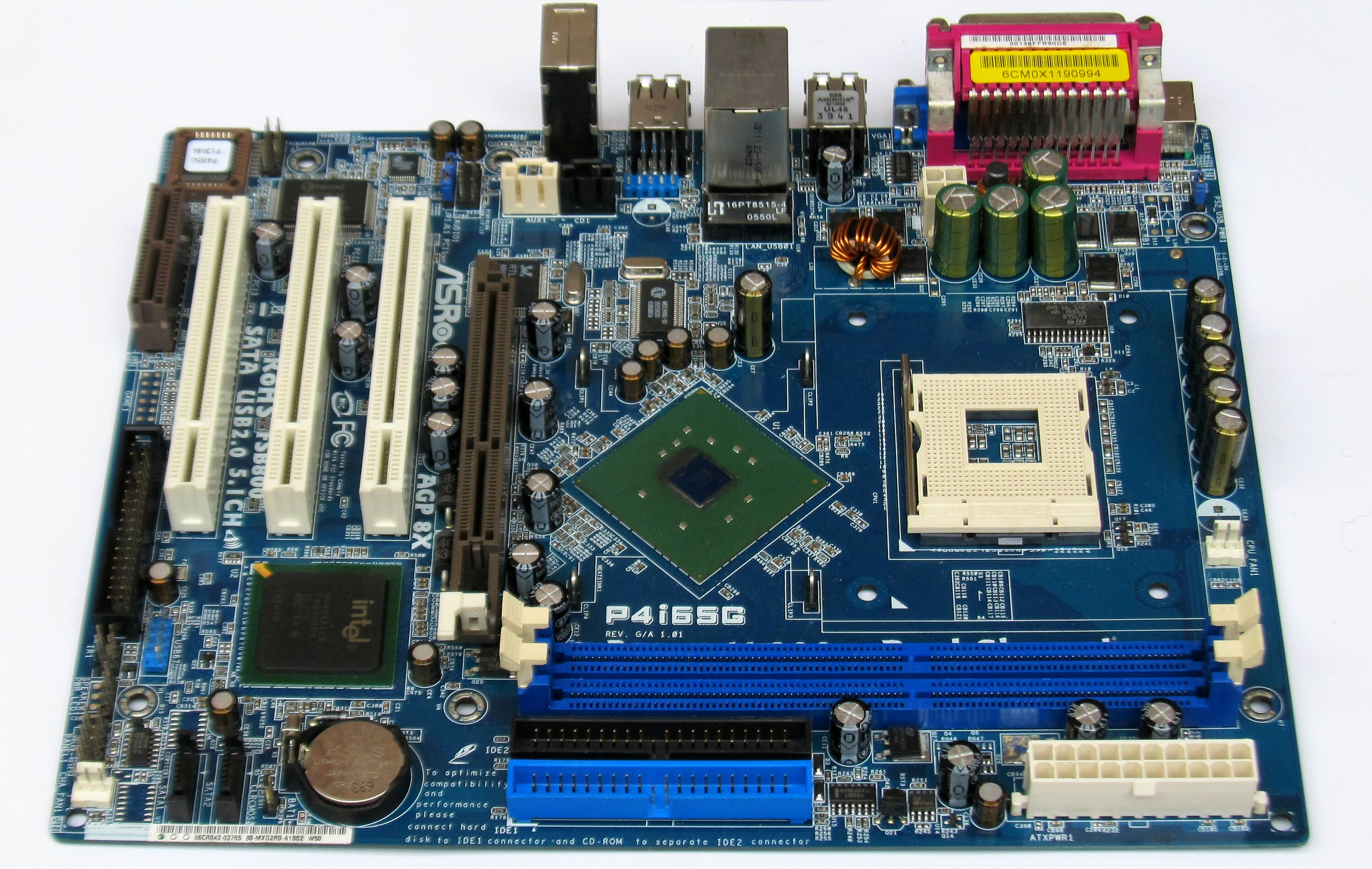 P4I65G MOTHERBOARD DRIVERS FOR MAC