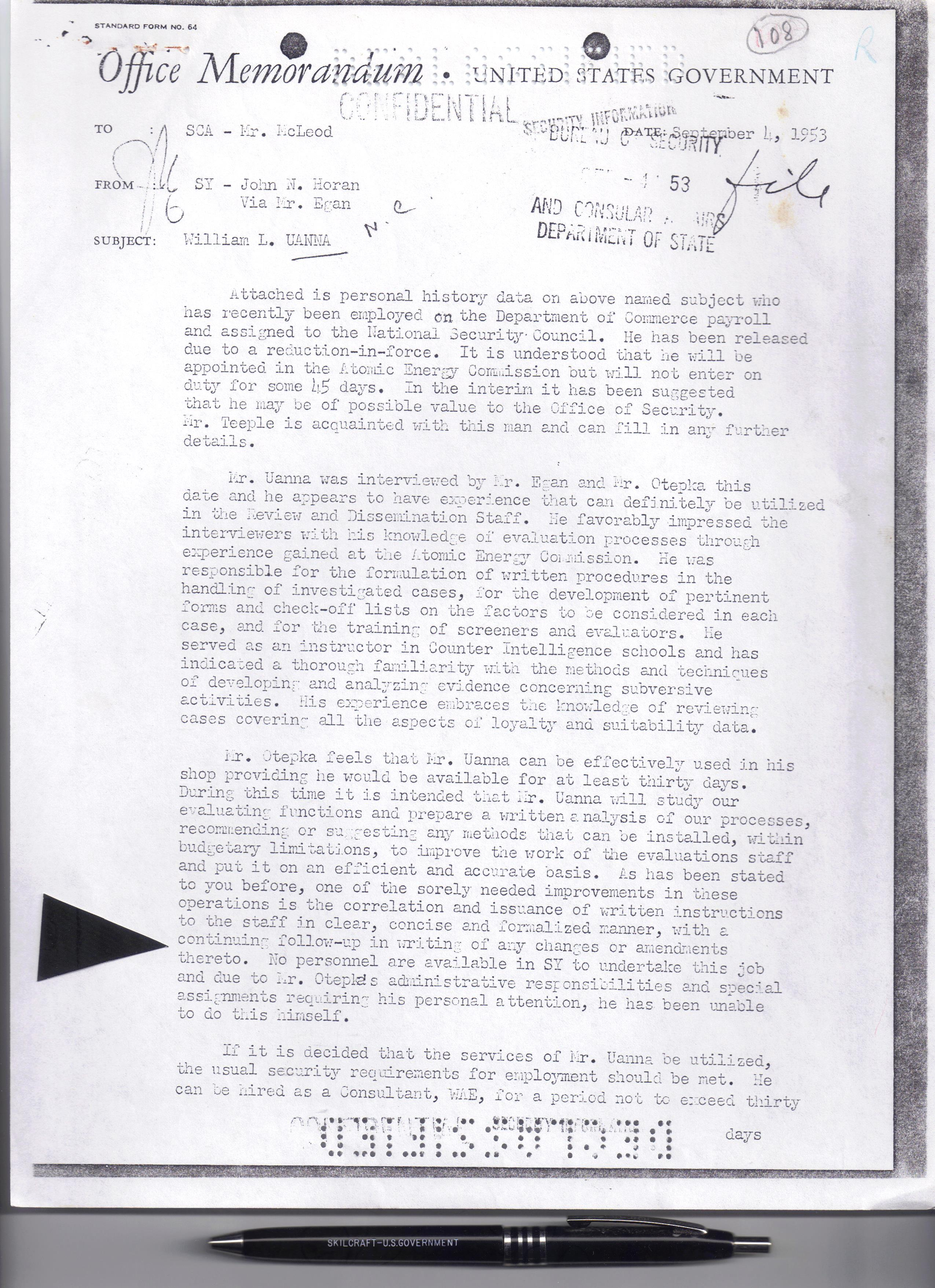 File:A DECLASSIFIED DOCUMENT Cover Sheet with SY OTEPKA background ...