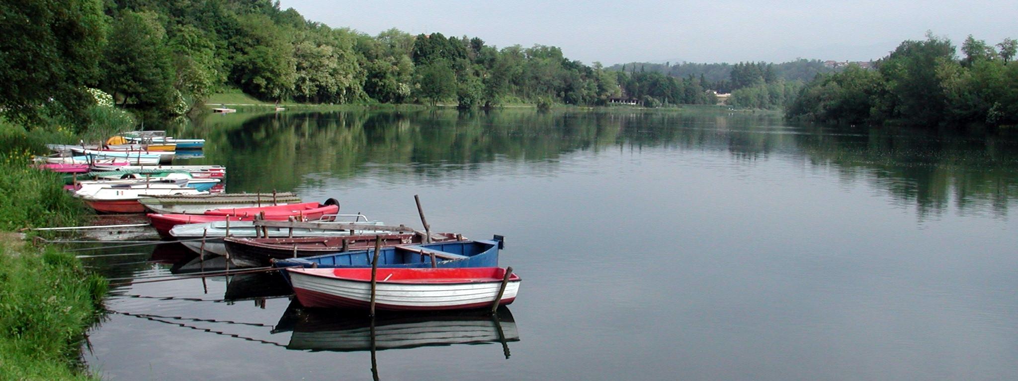 Descrizione adda fiume barche