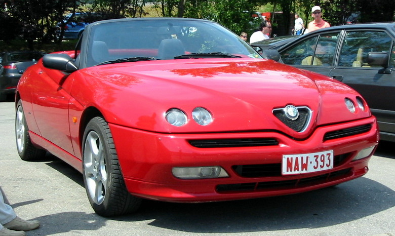 File Alfa Romeo Gtv Spider Jpg Wikimedia Commons