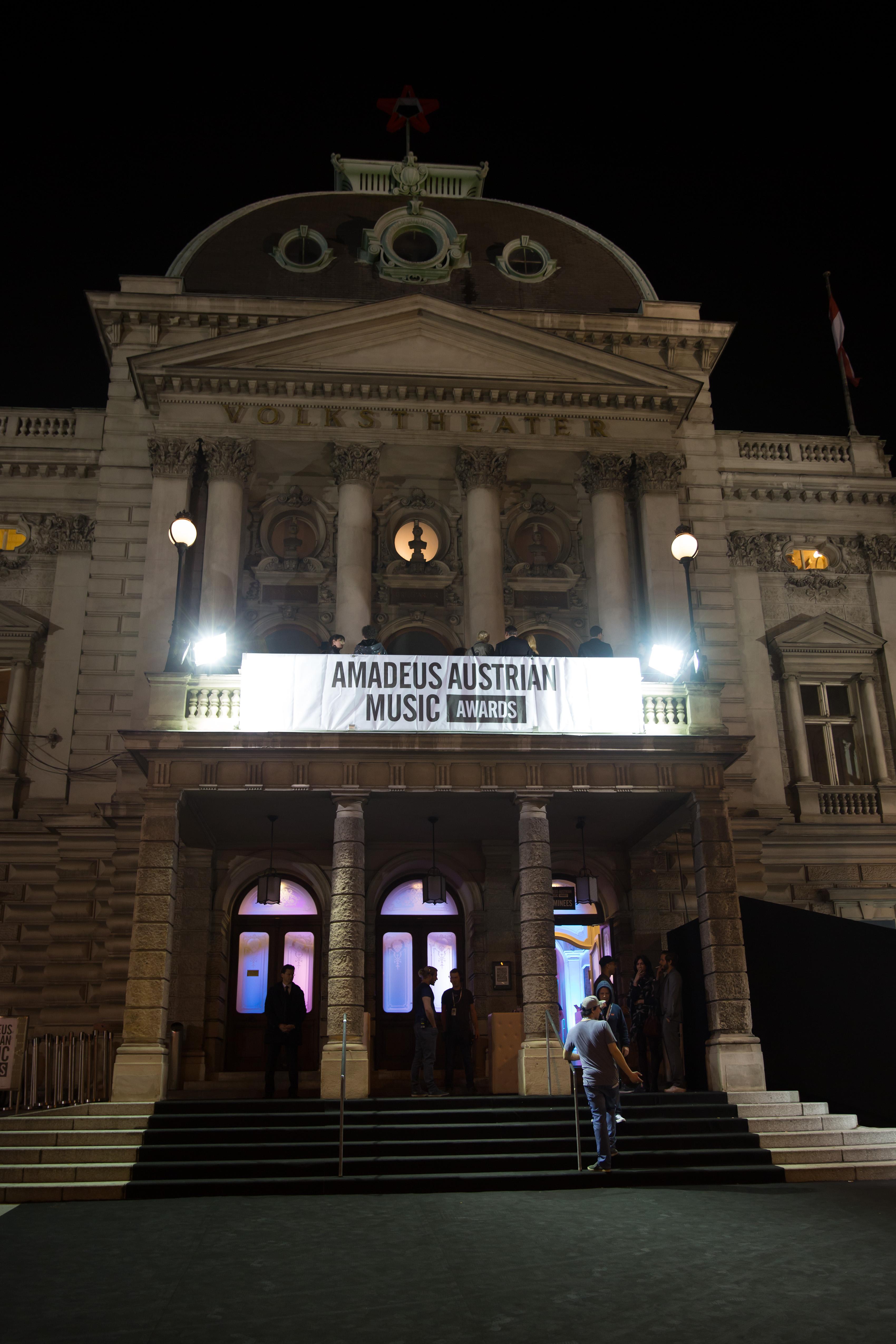 Amadeus Austrian Music Awards 2015 im Wiener Volkstheater