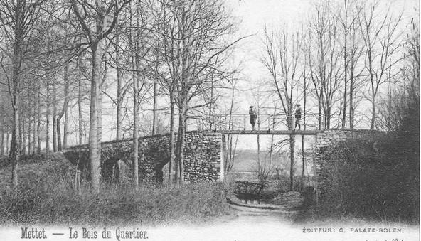 Aqueduc romain (M) et ensemble formé par cet aqueduc et les terrains environnants (S)