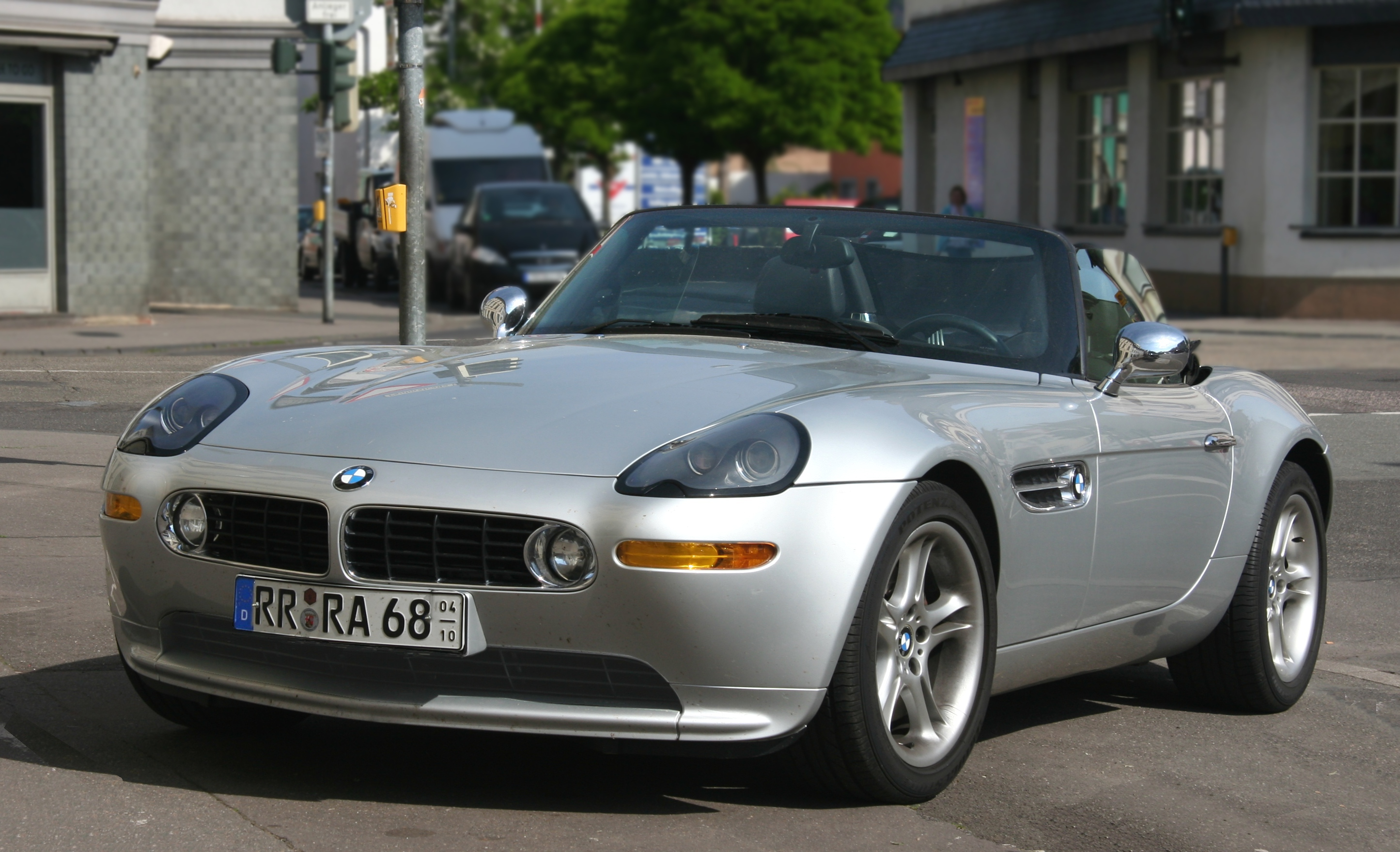 File Bmw Z8 Front 2009 05 20 Bearb Jpg Wikimedia Commons