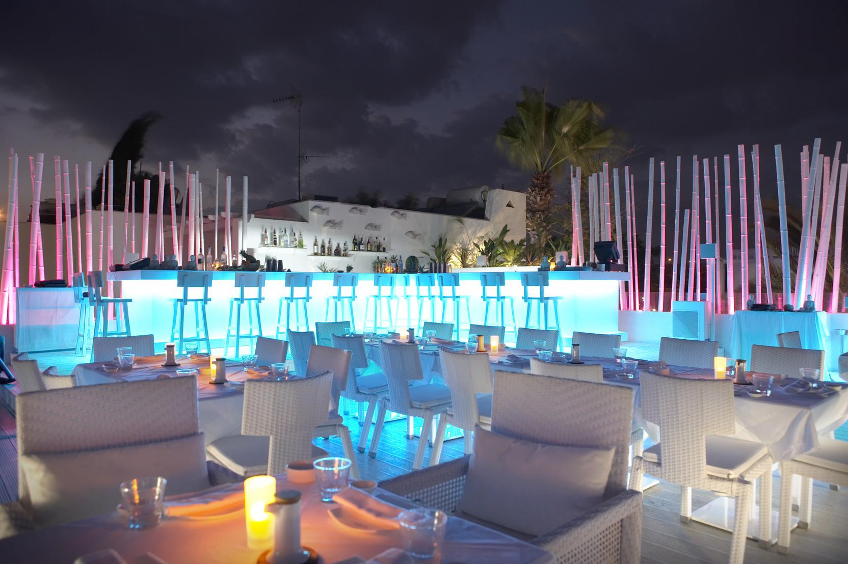 Ayia Napa Cyprus  City new picture : Bar in Ayia napa by night Republic of Cyprus Wikimedia ...