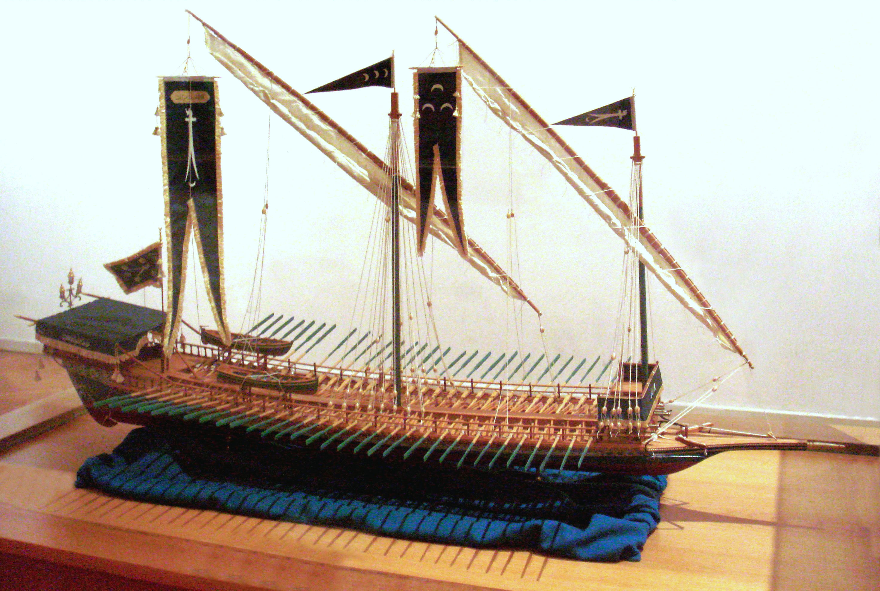 Barbarossa galley in france 1543 for Galley images