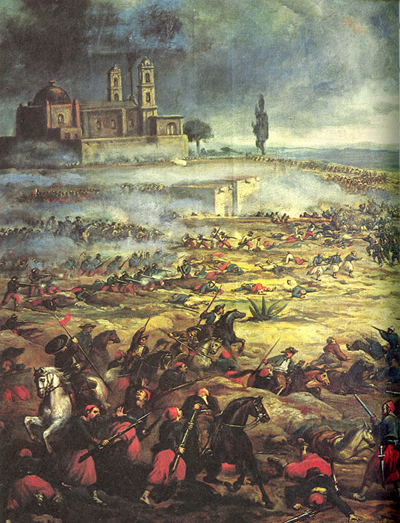 Mike Manning: Charge of the Mexican Cavalry at the Battle of Puebla