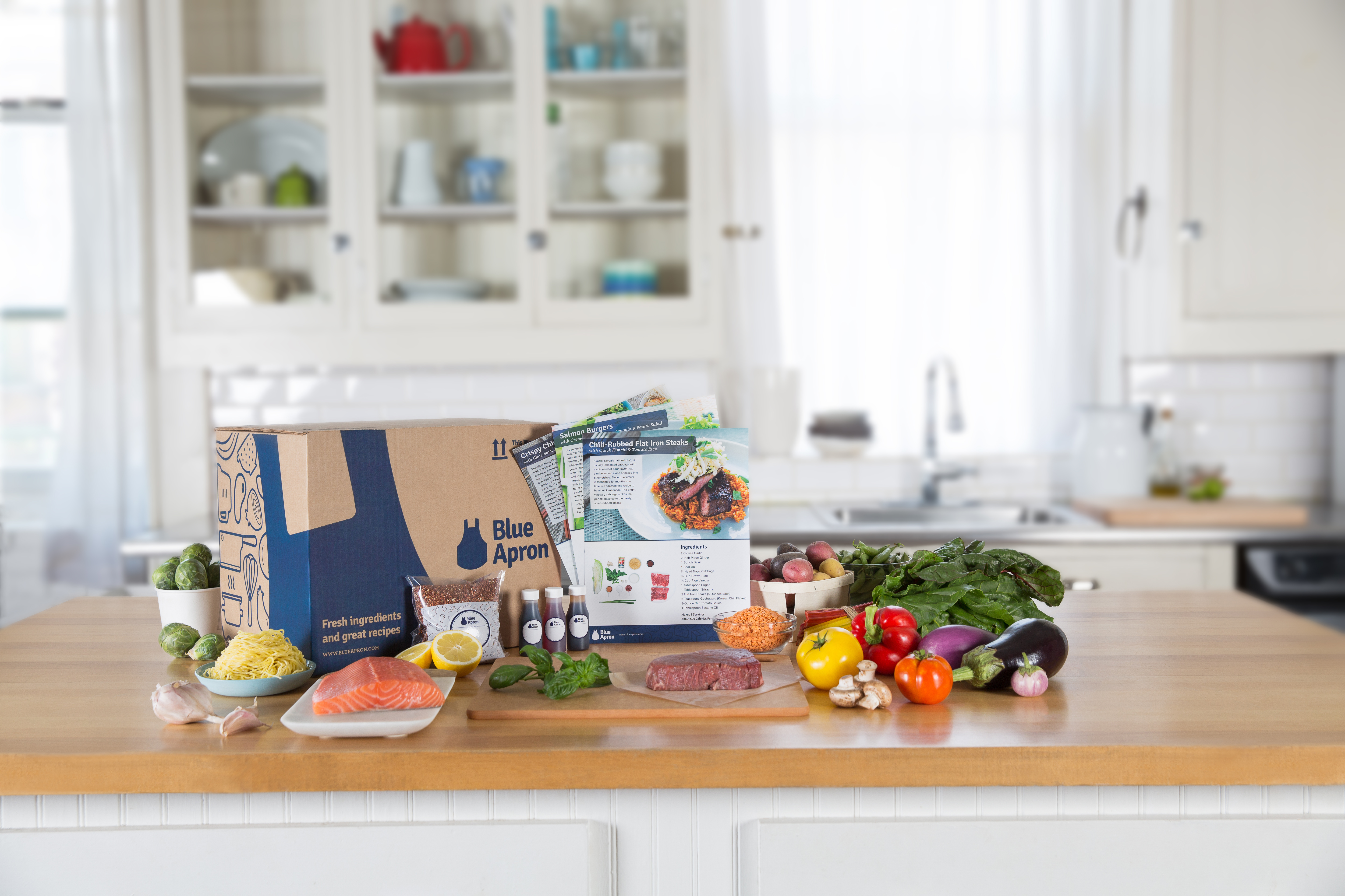Blue apron working conditions - File Blue Apron Jpg