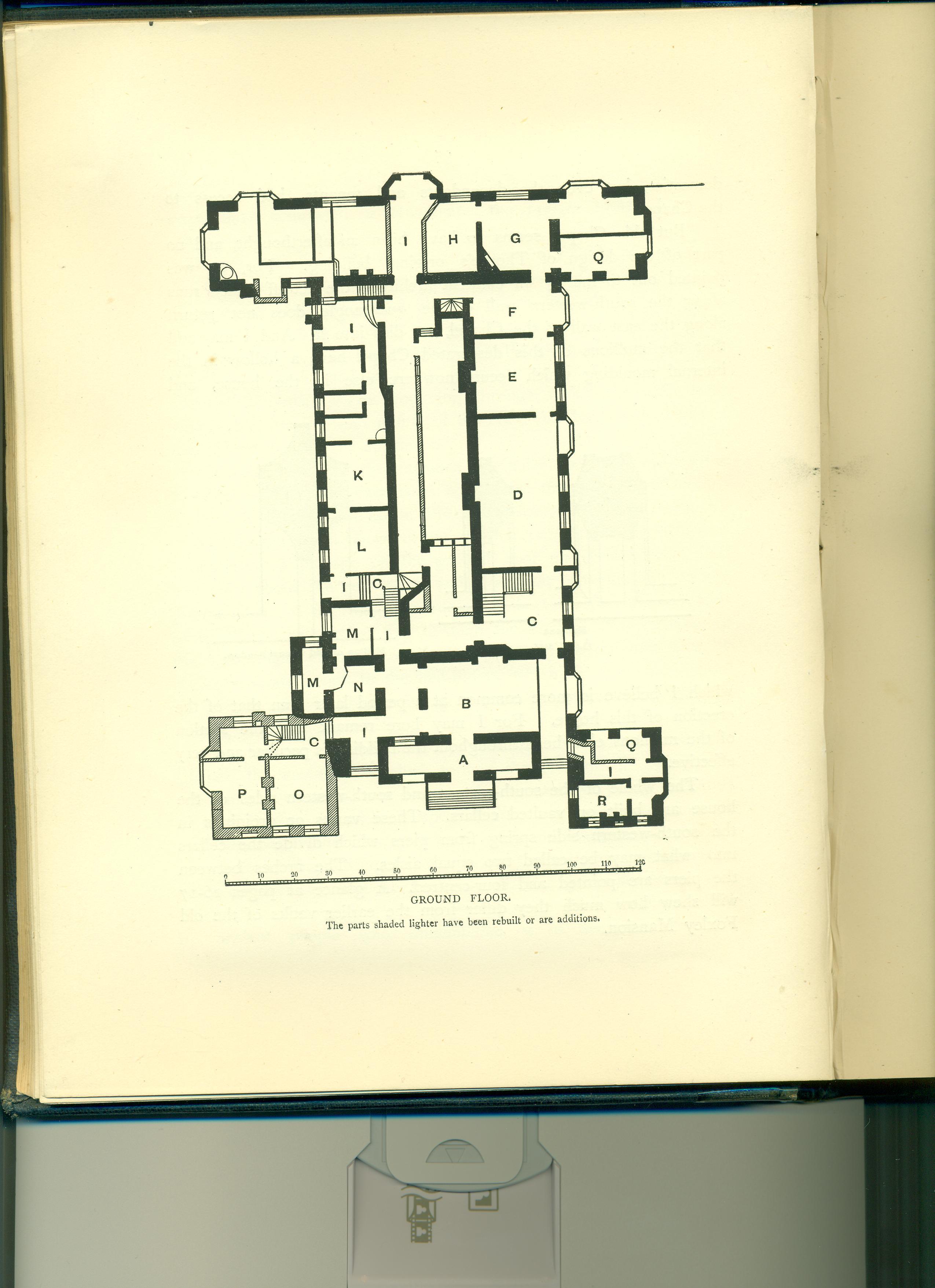 Bramshill House Ground First Floor Plan