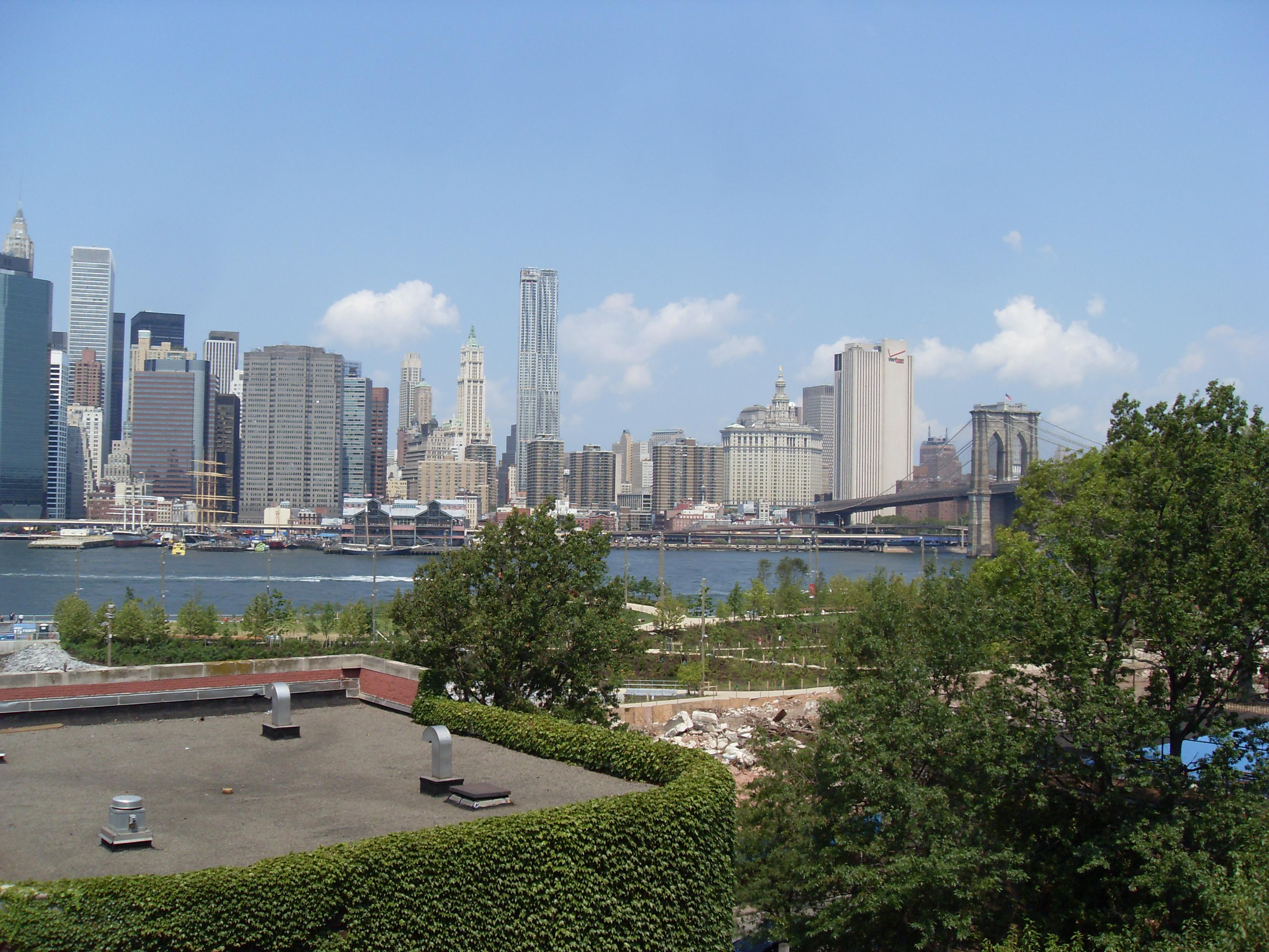 Highland Park Bridge Brooklyn Bridge Park And