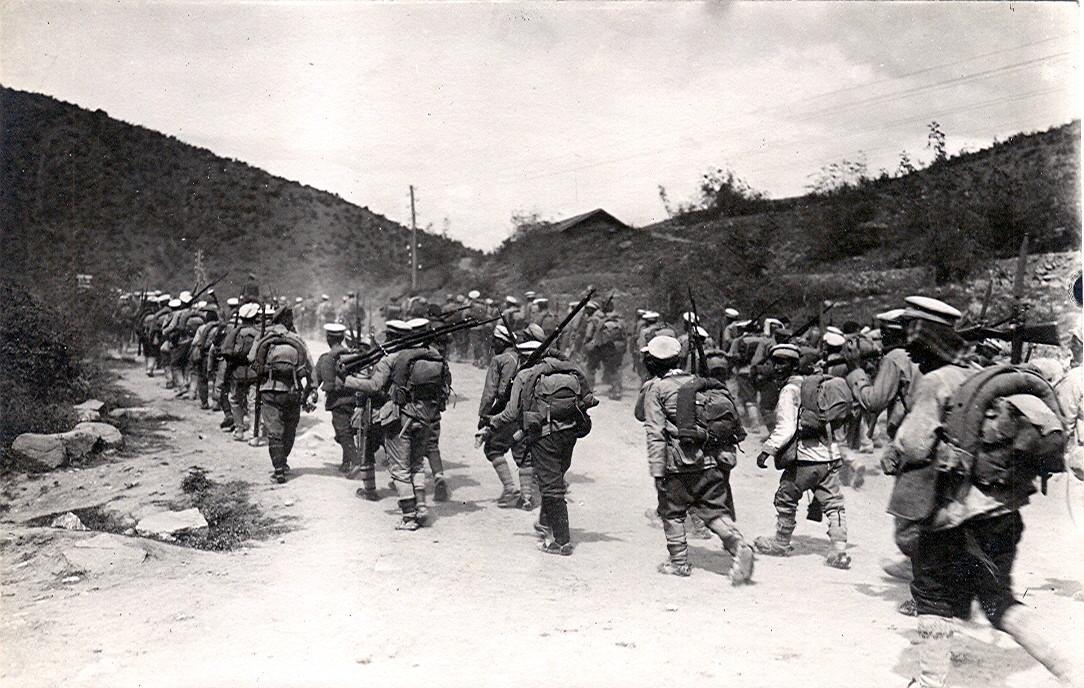 Bulgarische Soldaten um 1916