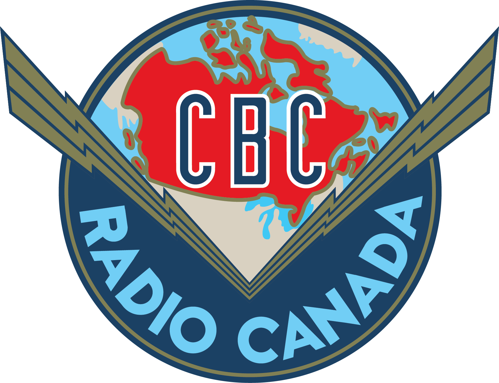 CBC radio logo - By Hortence Binette [Public domain], via Wikimedia Commons