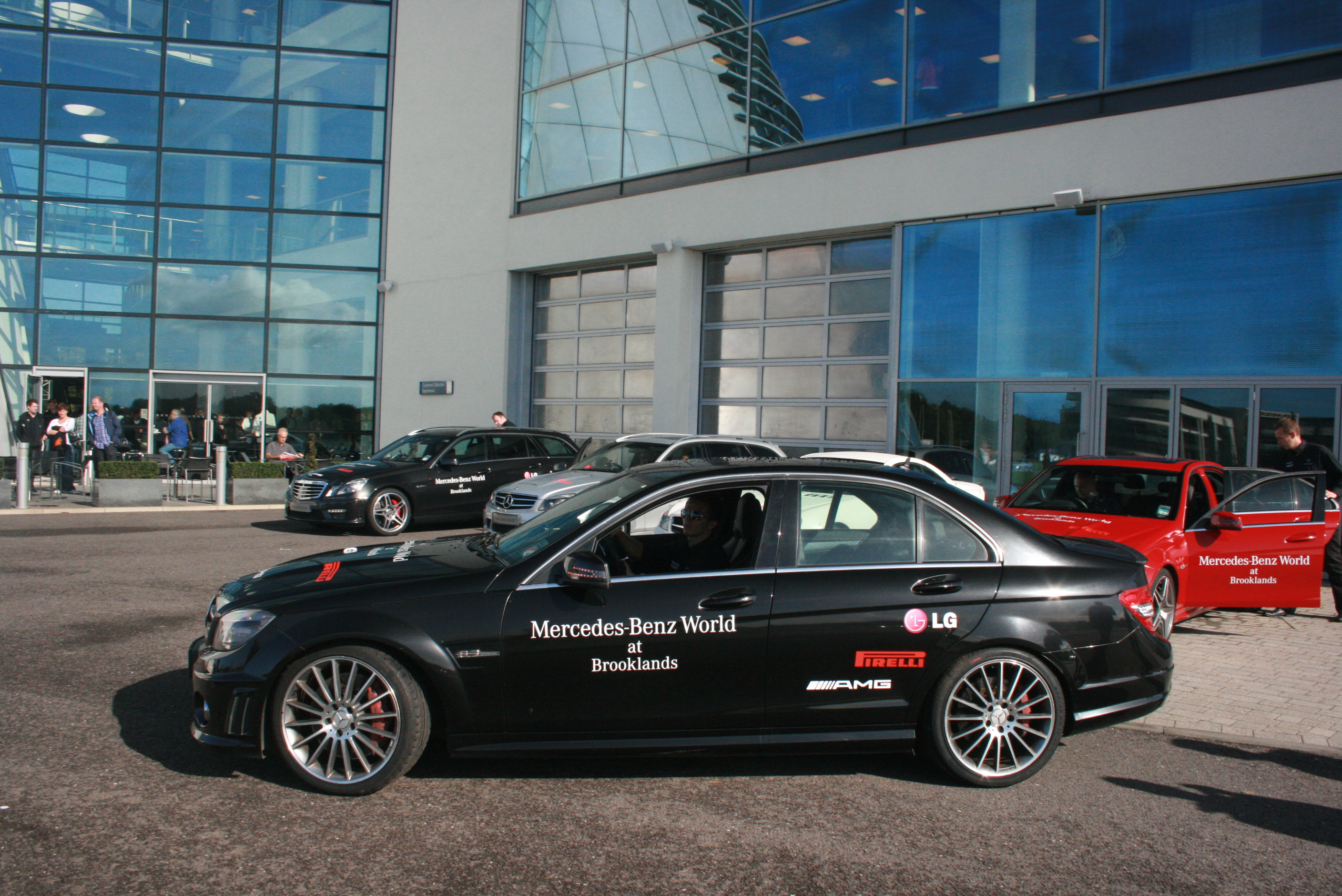 File c class amg at mercedes benz world brooklands for Mercedes benz brooklands