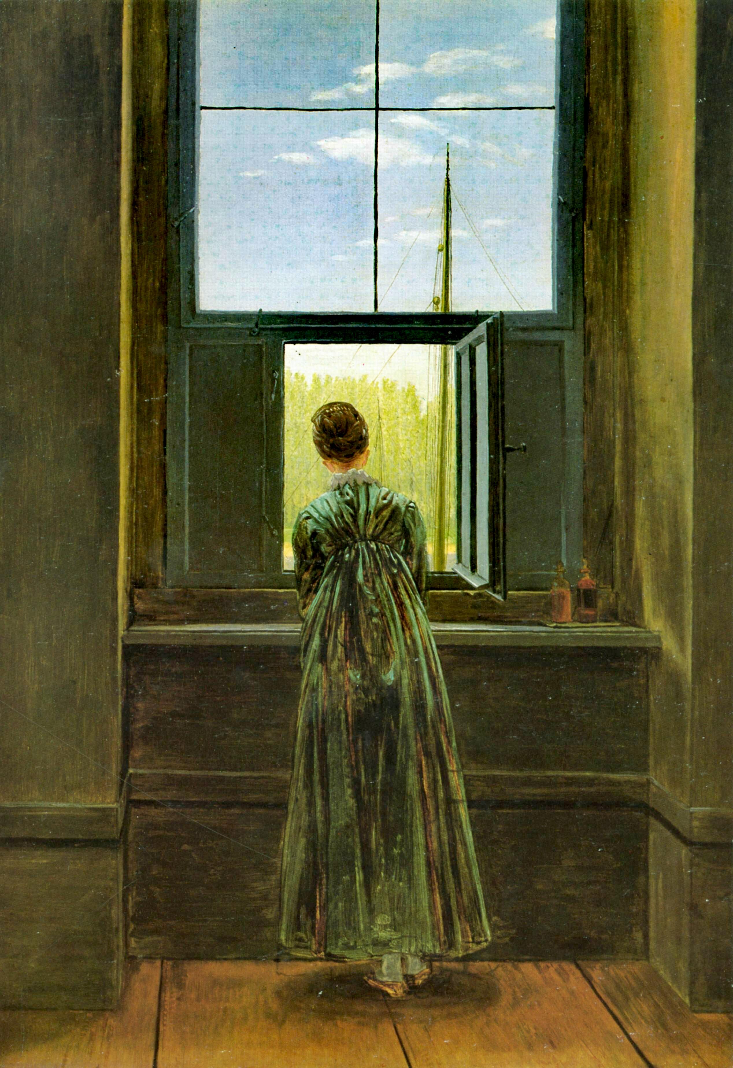 Resultado de imagen de friedrich woman window