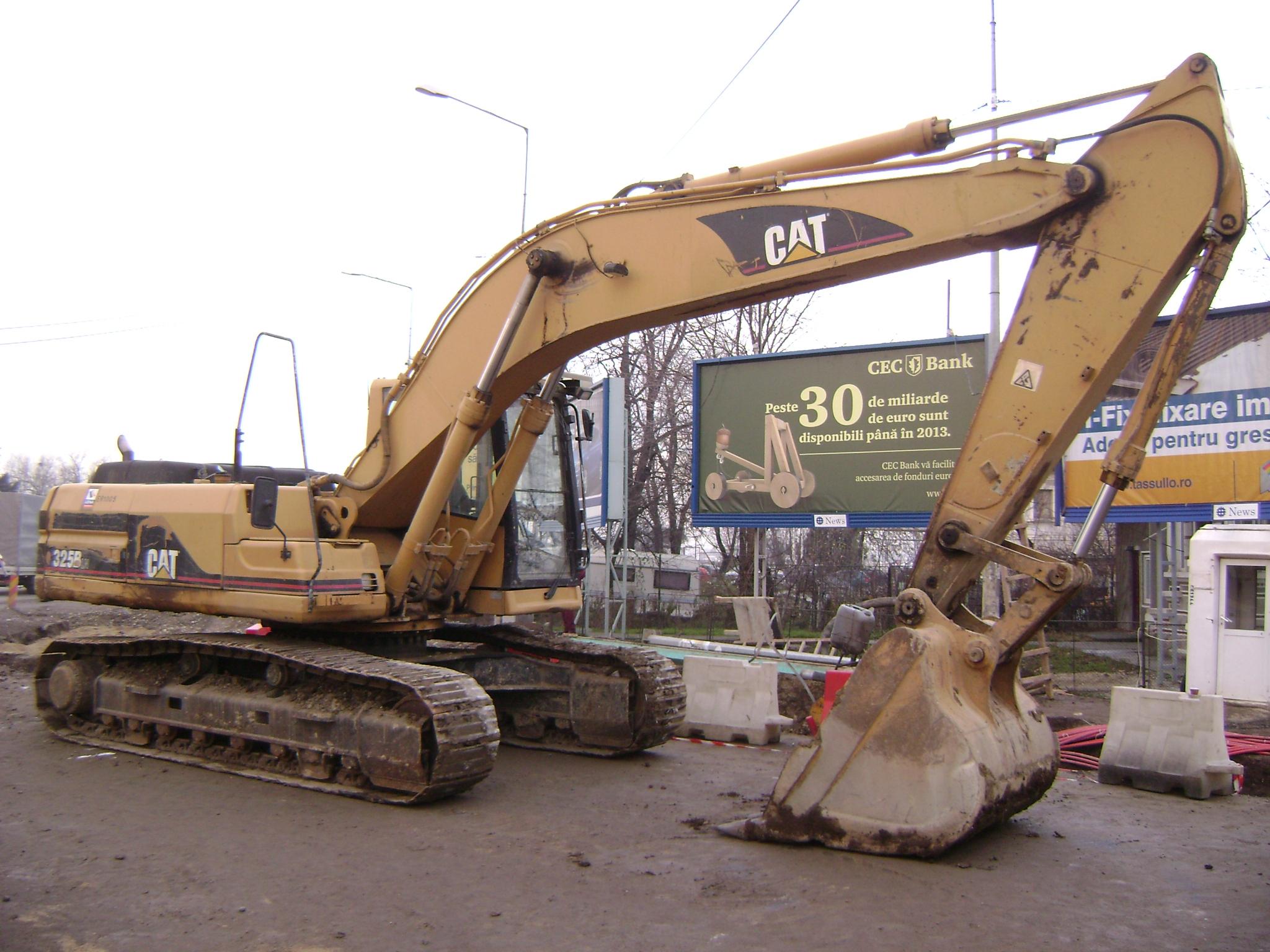 Caterpillar Cat B  Zoll  Mb Schwarz G