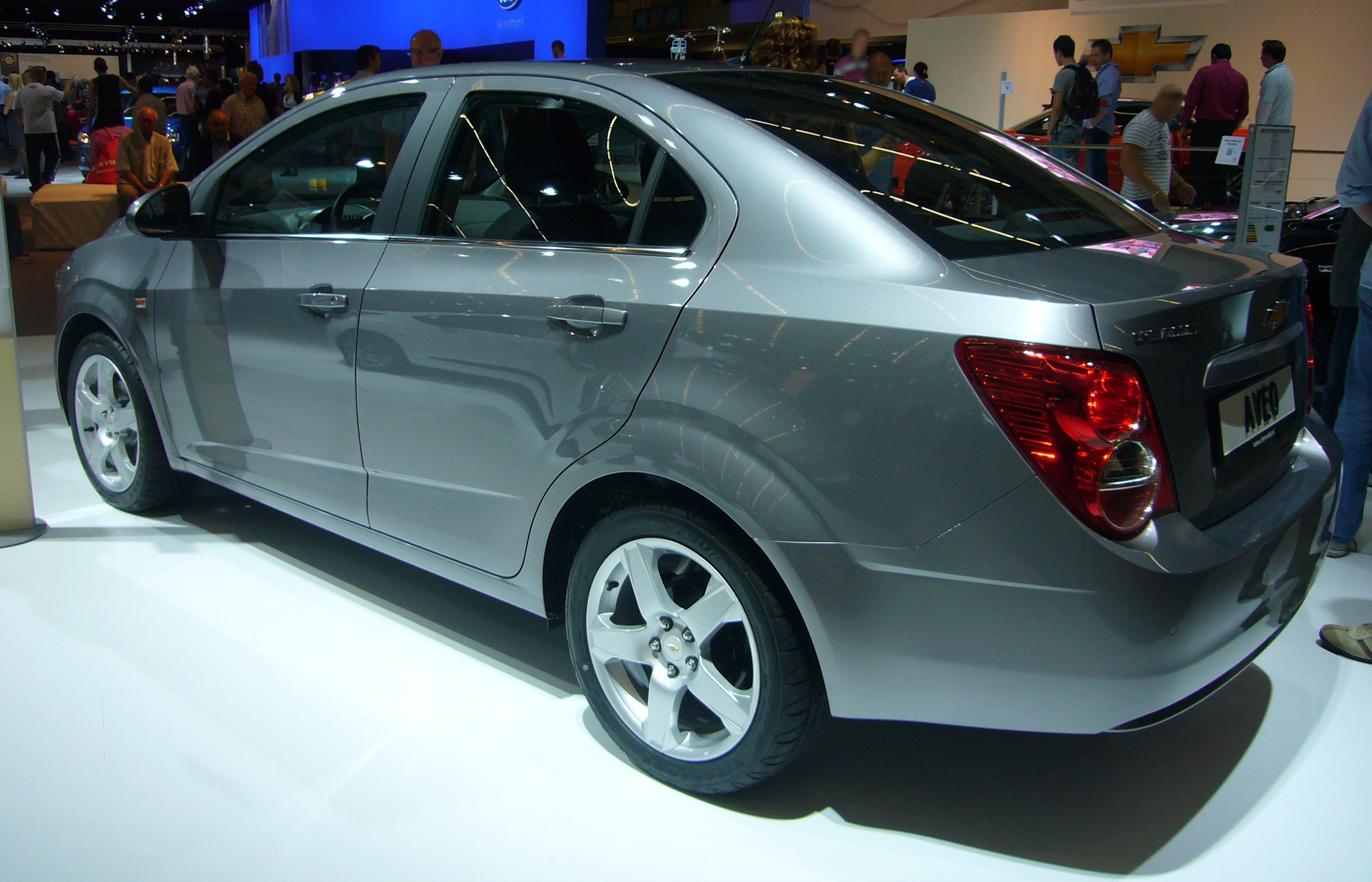 File:Chevrolet Aveo Sedan (rear Quarter)