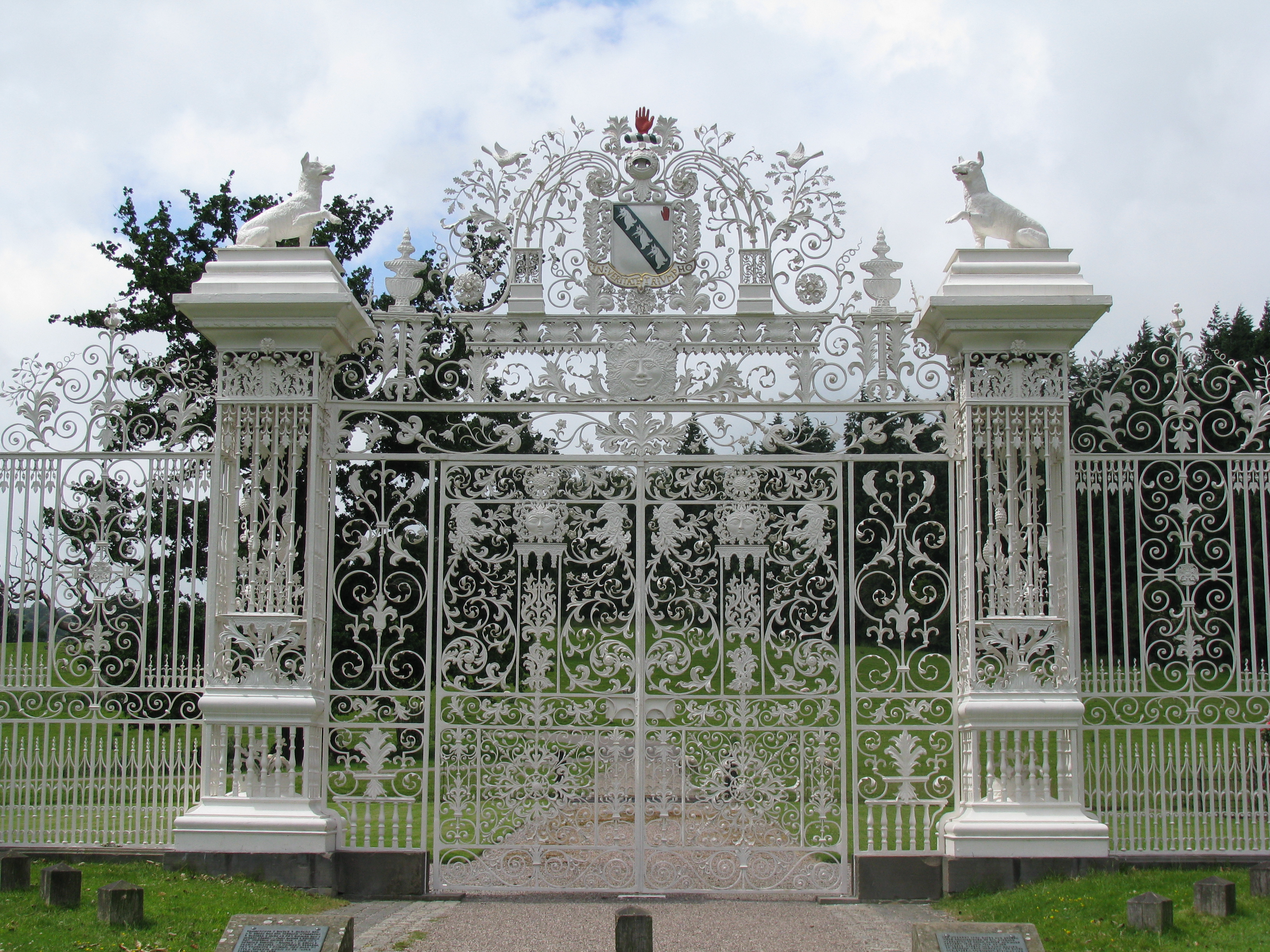 Entry Gate  Mm Glass