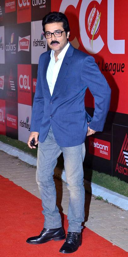 Prosenjit Chatterjee at the launch of ''[[Celebrity Cricket League]]'' – Season 2