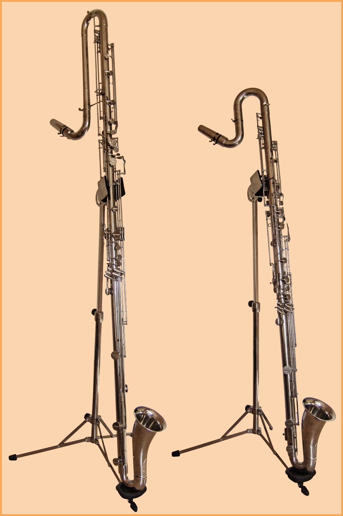Contrabass and contra-alto clarinets