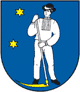 Coat of arms of Sačurov.png