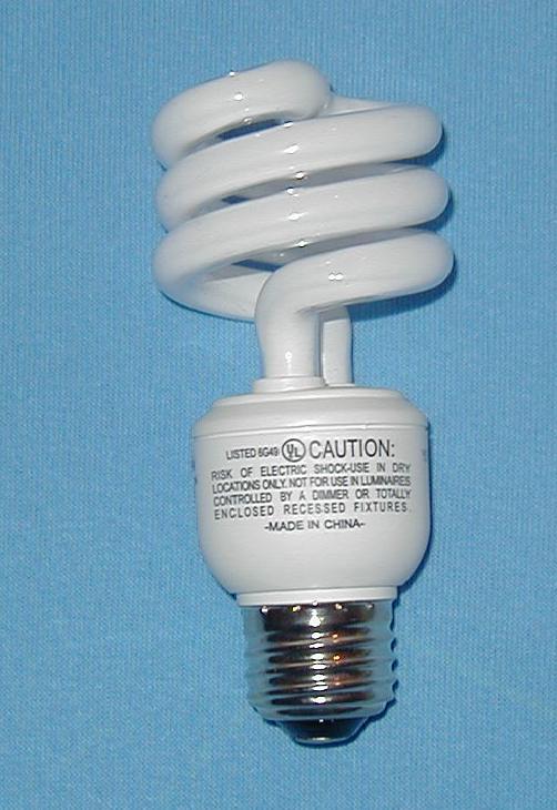 Lampe Fluorescente Compacte Wiktionnaire