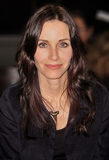 Courteney Cox at New York Fashion Week.