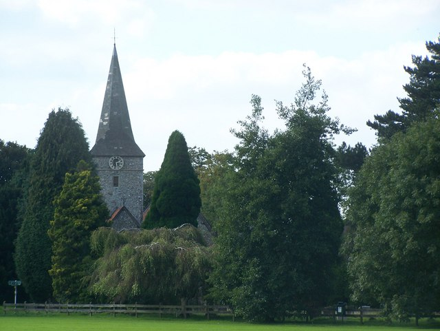 Cudham Church Spire - geograph.org.uk - 1006208