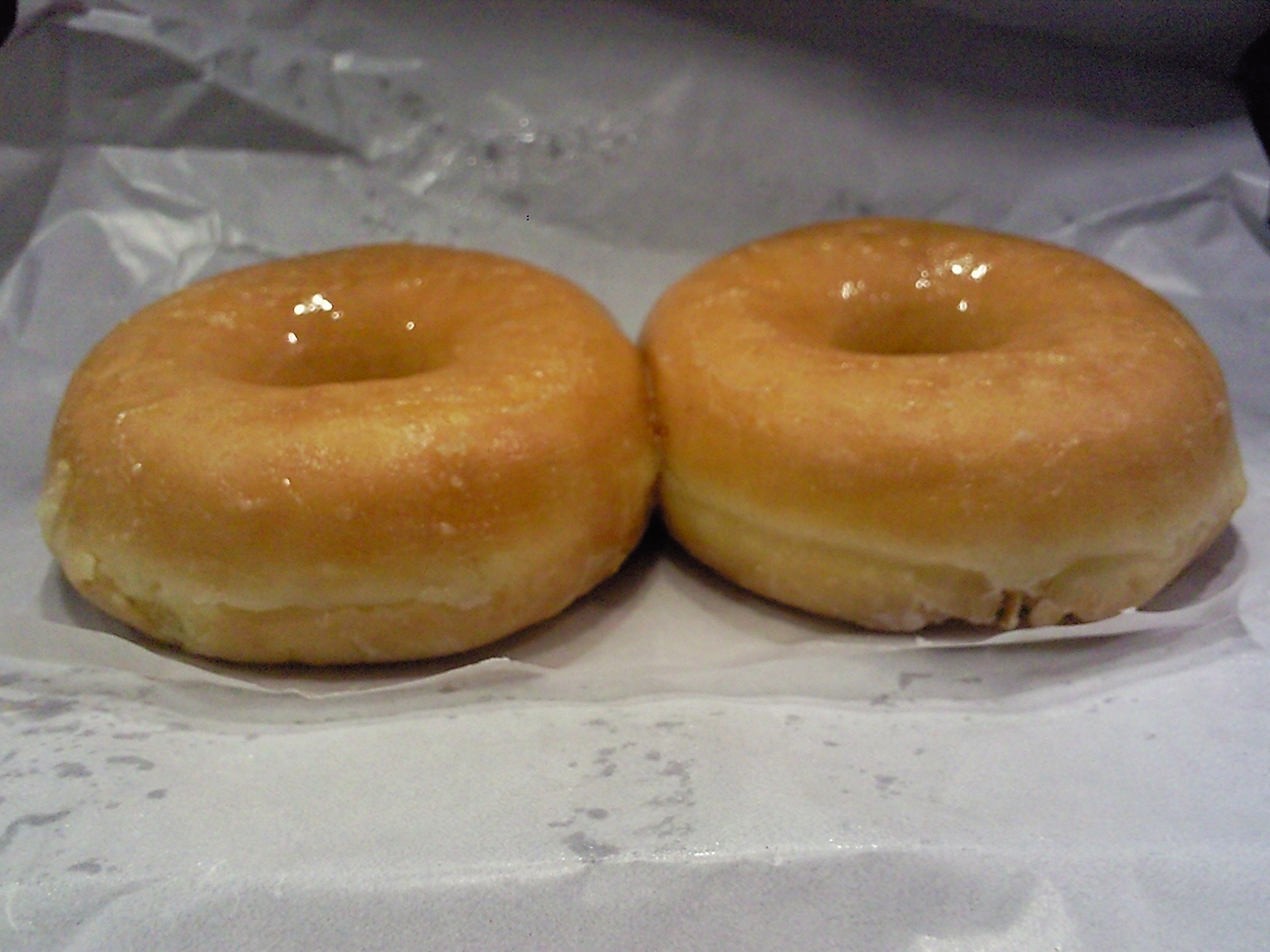 Soft doughnuts