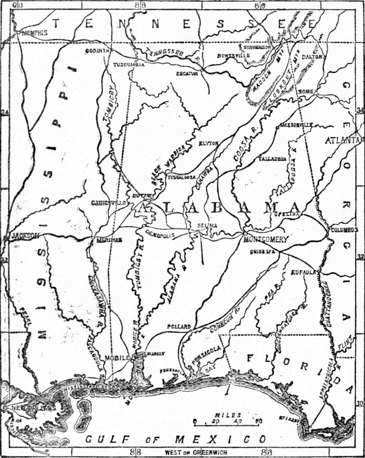 free coloring pages of f alabama