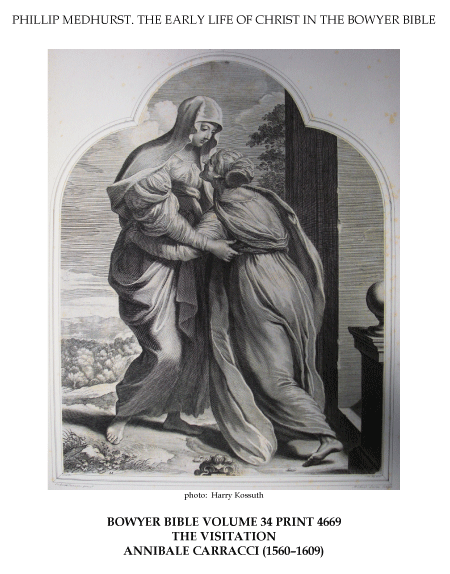 File:Early life of Christ in the Bowyer Bible print 3 of 21. visitation of Mary to Elizabeth. Carracci.png