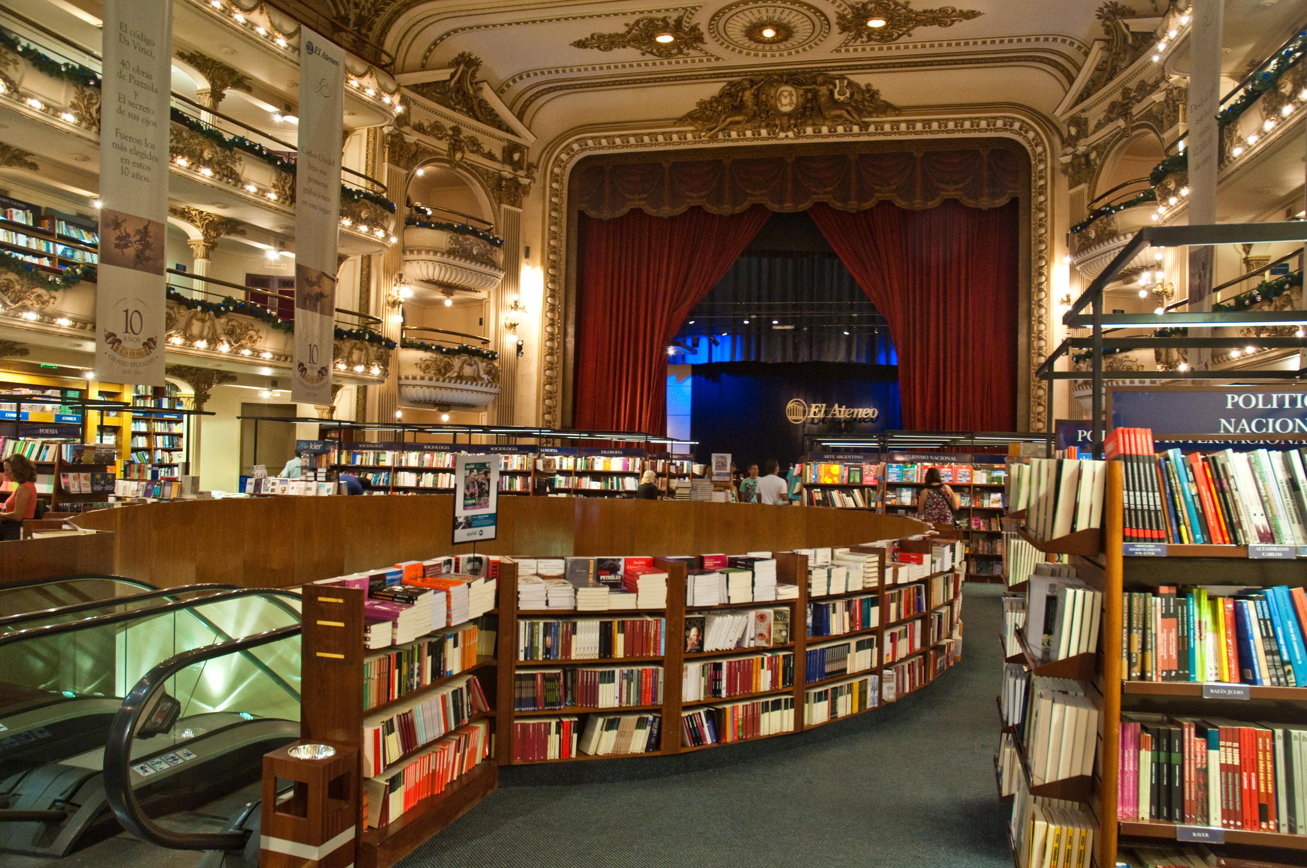 File:El Ateneo Grand Splendid Bookshop, Recoleta, Buenos Aires, Argentina,  28th. Dec. 2010 - Flickr - PhillipC.jpg - Wikimedia Commons