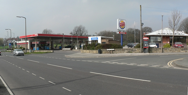 File Esso Garage And Burger King New Road Side Geograph