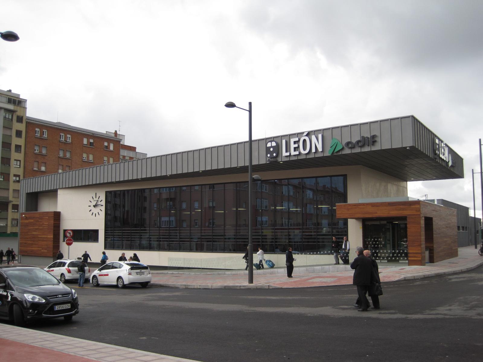 Estacion Tren Leon Mapa.Estacion De Leon Wikipedia La Enciclopedia Libre