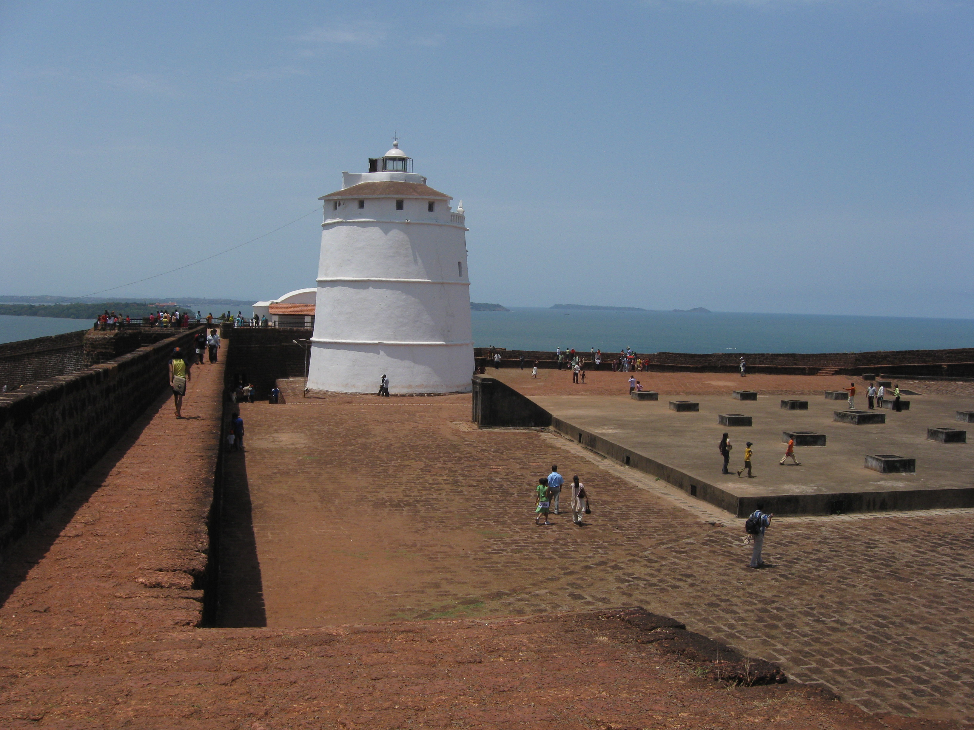 Fort Aguada Hotel Goa India Fort Aguada Lighthouse Goa