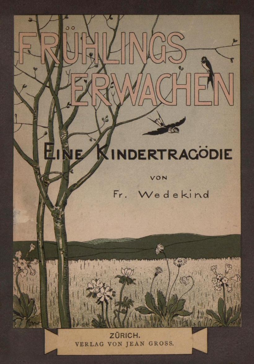 法蘭克.韋德金1891年原著封面。